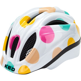 KED Meggy II Trend Casco Bambino, dots colorful